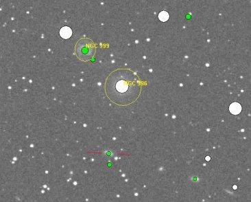 NGC 999 und Heuchelheim 1