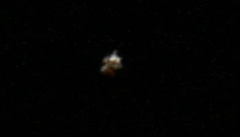 28.03.2009, ISS 1, etwa 20:22