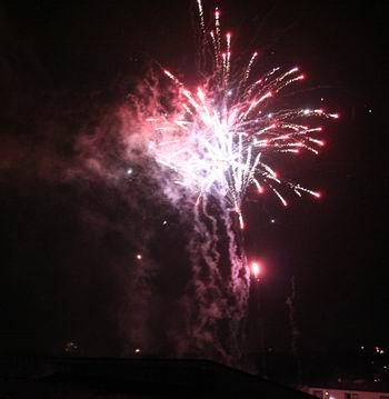 Neujahrsfeuerwerk 2010