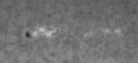 Sonnenfleck am 14.11.2010