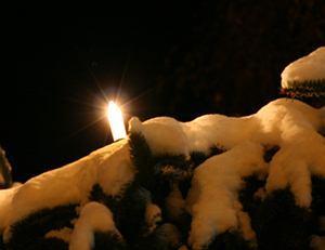 Kerze am 18.12.2010