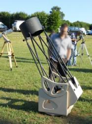 Teleskop auf dem ITV 2011