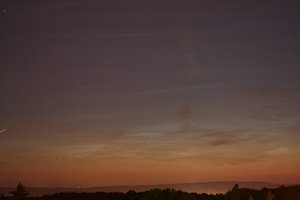 Leuchtende Nachtwolken, 27.06.2011