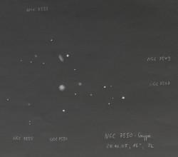NGC 7550 Gruppe im Pegasus